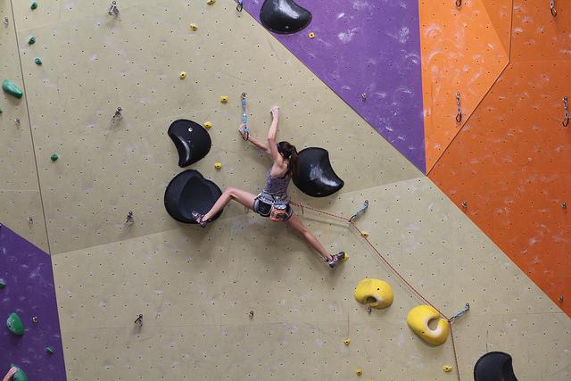 va-experianced climber