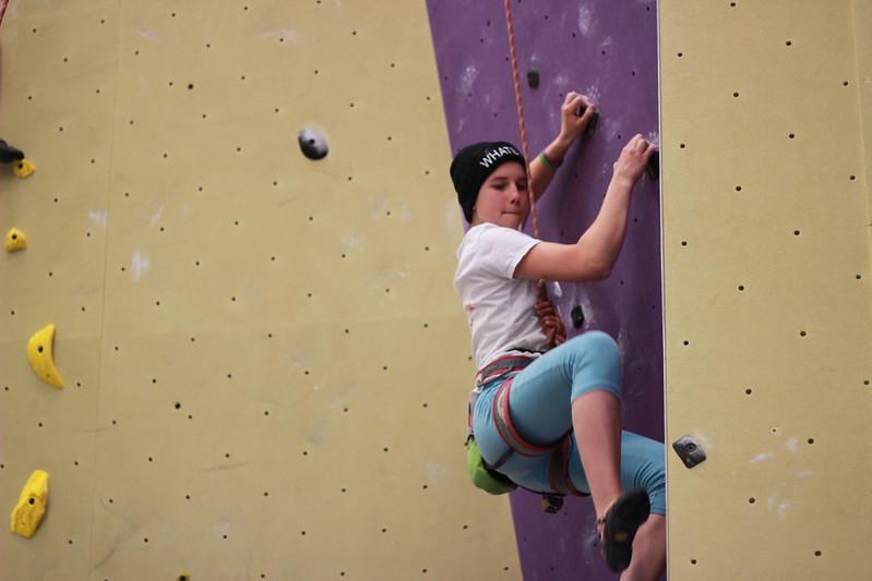 Youth Rock Climber