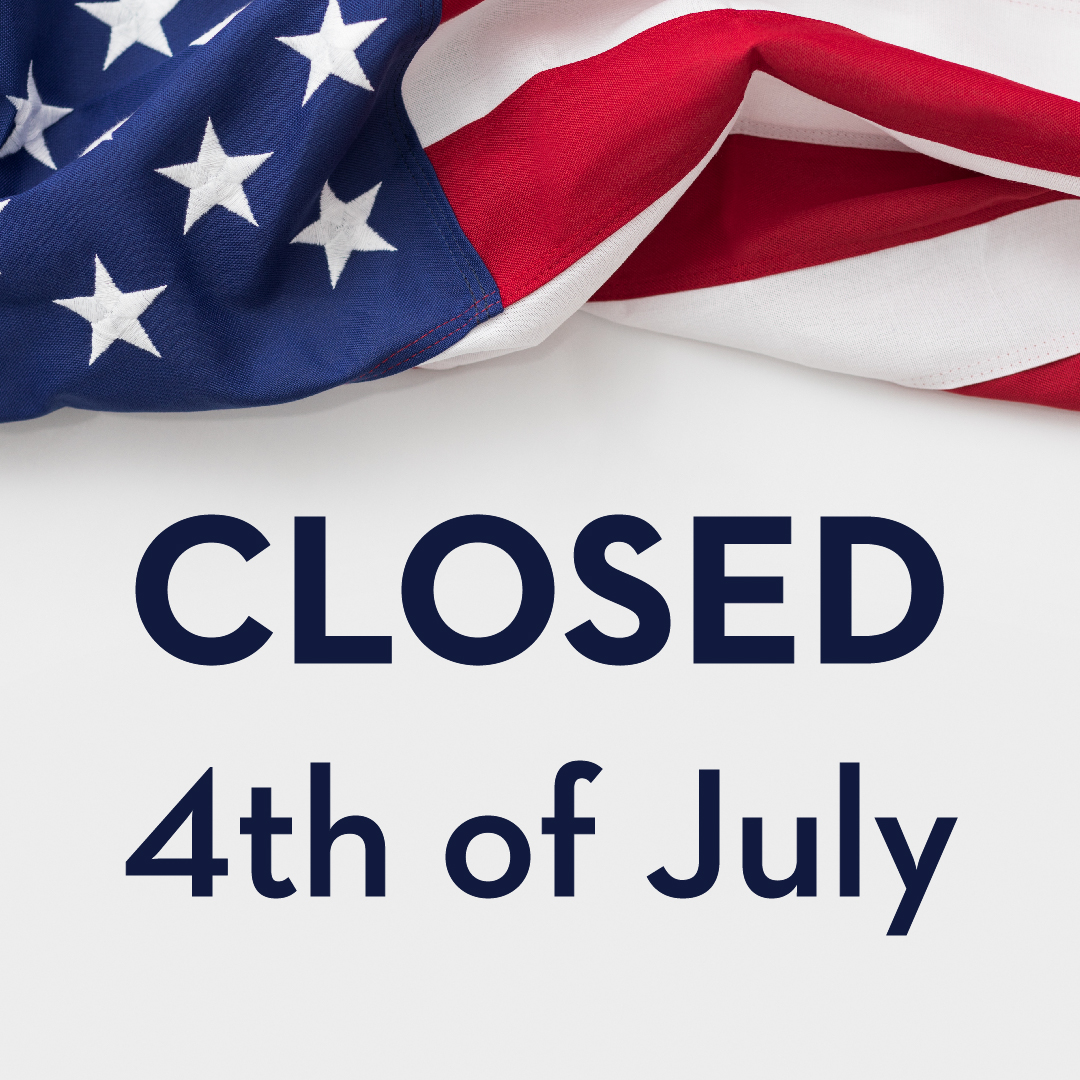 Closed 4th of July Web